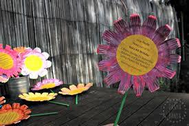 flower birthday party invitations diy tutorial u2013 danya banya