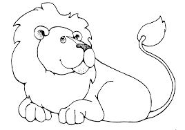 free lion clipart black white clipartxtras