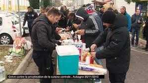 cuisine centrale aubagne grève contre la privatisation de la cuisine centrale
