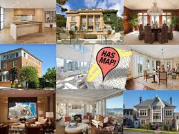 San Francisco Homes For Sale by Updating The Map Of The 25 Most Expensive Homes For Sale In San
