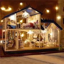 whole house christmas light kit dollhouse miniature kits ebay