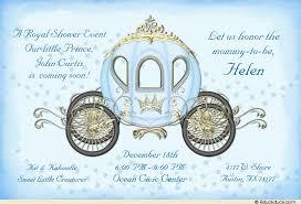prince baby shower invitations fairytale coach baby shower invitation princess royal