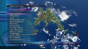 Ff9 World Map by Fast Travel Final Fantasy Wiki Fandom Powered By Wikia