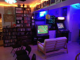 my friend u0027s amazing gamer house gaming geek room and game rooms