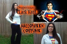 Superman Halloween Costumes Adults Diy Superman Clark Kent Halloween Costume Tutorial Quick Easy