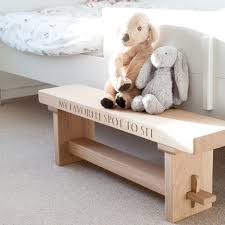 childrens oak bench u2013 avie and oak