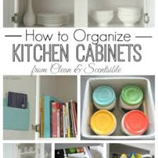 Arrange Kitchen Cabinets How To Organize Kitchen Cabinets Clean And Scentsible Organizing