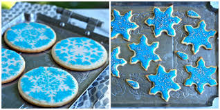 snowflake cookies simply sated