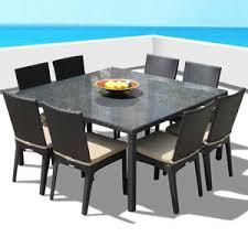 affordable outdoor dining tables 7 u0026 9 piece dining sets