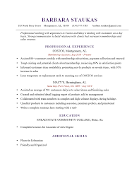 Costco Resume The 6 Second Resume Challenge Answers Keep Or Trash