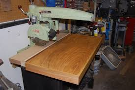 Craftsman Radial Arm Saw Table Need Some Advice On A Radial Arm Saw Woodworking Talk
