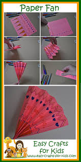 Easy Paper Craft For Kids - easy paper craft