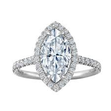 marquise halo engagement ring 1 00 carat marquise halo engagement ring