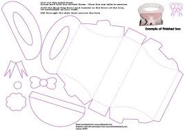 handbag shaped box template cup320260 1509 craftsuprint