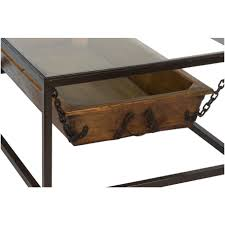 furniture reclaimed wood coffee and end tables painted mexican