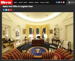 Oval Office Decor By President Fake News Alert There U0027s No Bronze Statue Of Obama In The White
