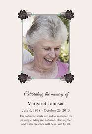 12 best memorial announcements images on pinterest create