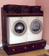 Build Washer Dryer Pedestal 11 Best Washer And Dryer Stands Images On Pinterest Laundry Room