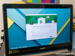 these are the chromebooks that can run android apps from google
