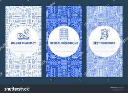 pharmacy brochure template free stock vector brochure template drugstore flyer vector