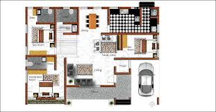 3 bhk house plan 3 bhk single floor home design at 1530 sq ft interior home plan