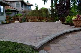 patio ideas with pavers lewis landscape services paver patios portland oregon
