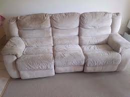 Dfs Recliner Sofas by Recliner Sofa Suede Ads Buy U0026 Sell Used Find Great Prices