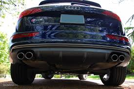 lexus isf aftermarket exhaust audi takes the fake exhaust tips to a new level with the sq5 cars