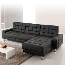 canape simili cuir noir canapé simili intérieur déco