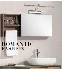 led mirror light wall lamps modern brief bathroom mirror led light