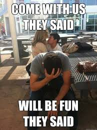 3rd Wheel Meme - 23 people awkwardly third wheeling it smosh