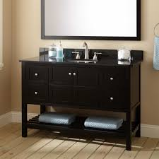 Antique Black Bathroom Vanity by Console Vanities 48
