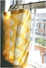 Tie Up Valance Kitchen Curtains Kitchen Yellow Kitchen Curtains Uk Pinspiration Monday No Sew