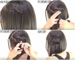 Easy Updo Hairstyles Step By Step by Easy Hairstyles For Short Hair Step By Step Easy Updos Short Hair
