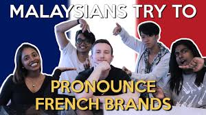 How To Pronounce Meme In French - malaysians try to pronounce french brands world of buzz
