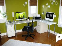 garage office designs midsized elegant home office photo in