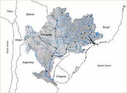 parana river map paraná wwf