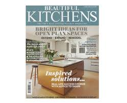 Designer Kitchens Magazine by Valcucine Sine Tempore Mentioned In Beautiful Kitchens Magazine