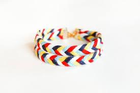 braided friendship bracelet images Double layered braided friendship bracelet chevron arrow etsy jpg
