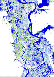 Parana River Map Planet Earth U0027s Surface Water Shown In Stunning Satellite Images