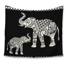 elephant tapestry wayfair ca