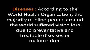 History Of Blindness Causes Of Blindness And Low Vision Youtube