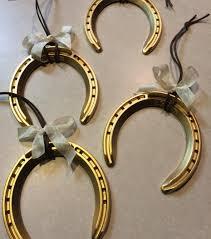 horseshoe ornaments fancy meeting ewe handmade country christmas tree series