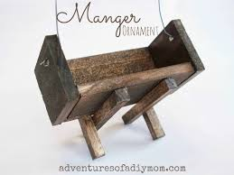 how to make a manger ornament nativity ornament series