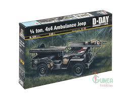 jeep tamiya italeri 0326 1 35 u s jeep willys mb 1 4 ton ambulance