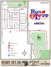 Map Your Run Track Shack Run 4 Love 4 Mile Presented By Florida Hospital