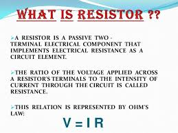 resistor and its types