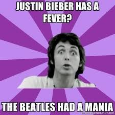 Meme Edit - beatles paul mccartney meme edit funny haha humor justin