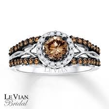 chocolate wedding rings levian chocolate diamonds 3 4 ct tw engagement ring 14k gold