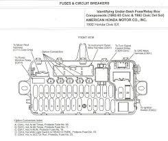 civic sol fuse panel printable copies diagrams honda crx